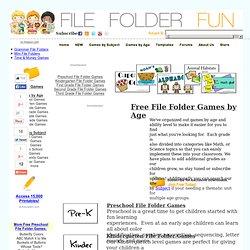 Free File Folder Games (Age)