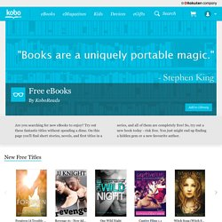 Get free eBooks from classic reads to new fiction