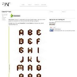 Free font Cube 02