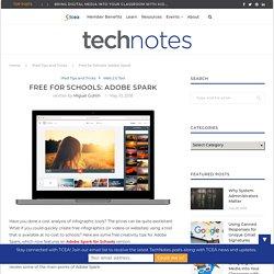 Free for Schools: Adobe Spark