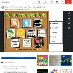 Top 10 Free and User Friendly Web Tools - 2012