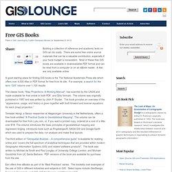 Free GIS Books
