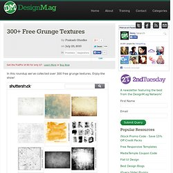 300+ Free Grunge Textures - Web Design Blog - DesignM.ag - StumbleUpon