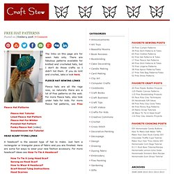 Free Hat Patterns :