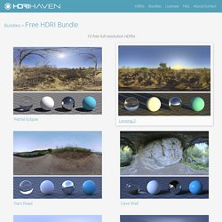 Free HDRI Bundle