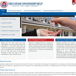 Homeownership Education Learning Program | USA Help