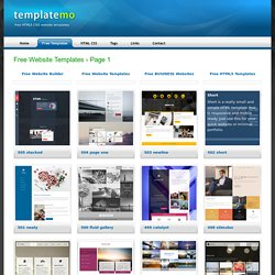 Free HTML5 CSS Templates
