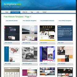 Free HTML5 CSS Templates