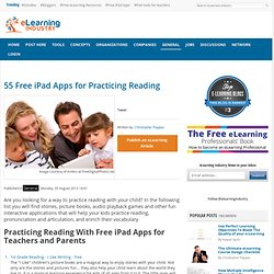 55 Free iPad Apps for Practicing Reading