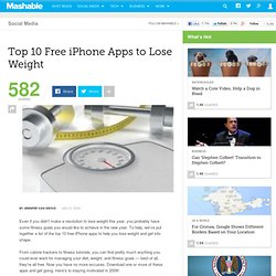 Top 10 Free iPhone Apps to Lose Weight