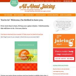 Free Juice Recipe Book