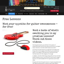 Guitar Lessons 365