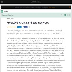 Free Love: Angela and Ezra Heywood