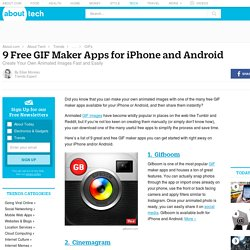 9 Free GIF Maker Apps for iPhone and Android