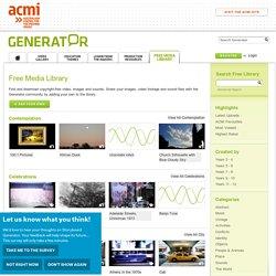 Free Media Library | ACMI Generator