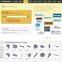 Free 2D and 3D CAD Models and Drawings on ThomasNet