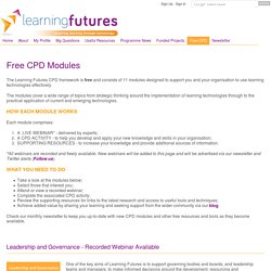 Free CPD Modules - Learning futures