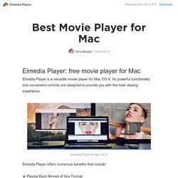 best movie player for mac