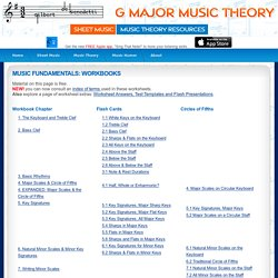 Free Music Theory Worksheets! - StumbleUpon