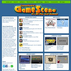 Free Online Games to Play at GameScene.com