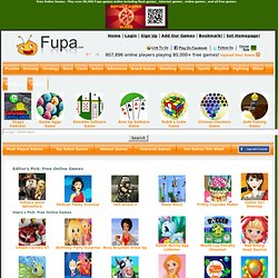 Free Online Games, Free Games, Play Games at Fupa Games