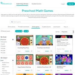 Free Online Preschool Math Games