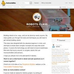 Free Online Robots Class