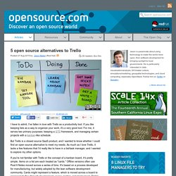 5 free open source kanban boards