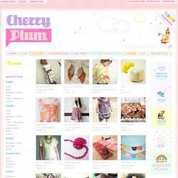 Free pattern | Cherry Plum