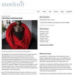 Free Pattern: Red Rasta Cowl « eweKnit