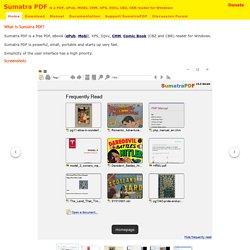 Sumatra PDF - Free PDF Reader