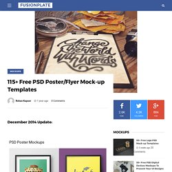115+ Free PSD Poster/Flyer Mock-up Templates - Page 5 of 5