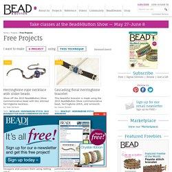 Jewelry making magazine Free Beading Projects