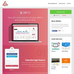 free psd of Zero Admin