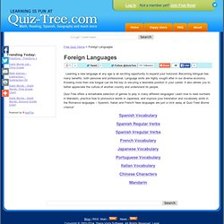 Free Quizzes: Foreign Languages