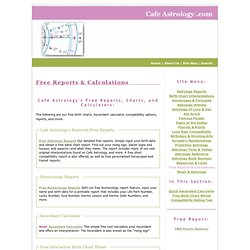 Free Reports & Calculations