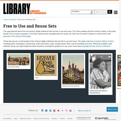 Free to Use and Reuse Sets