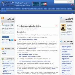 Free Romance Books Online
