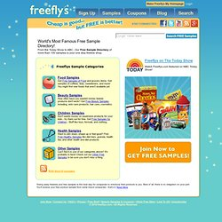 Free Samples / Free Coupons / Free