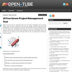 10 Free Scrum Project Management Tool