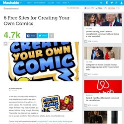 6 Free Sites for Creating Your Own Comics
