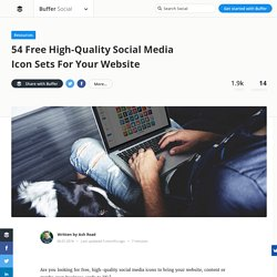 50+ Free, High-Quality Social Media Icon Sets (Something for Everyone)