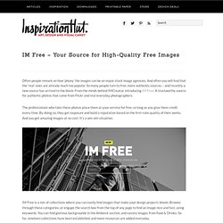 IM Free – Your Source for High-Quality Free Images