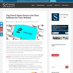 Top Free & Open Source Live Chat Software for Your Website