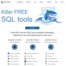 Free SQL Server tools