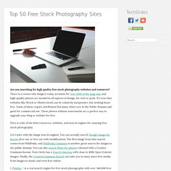 Top 50 Free Stock Photography Sites