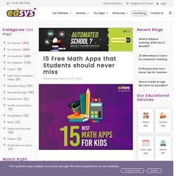 15 Free Math Apps that Students should never miss