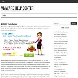 Free 2V0-621D Study Dumps – VMware Help Center