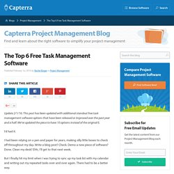 The Top 6 Free Task Management Software