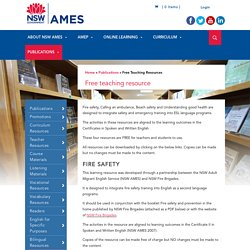 Free Teaching Resources - NSW AMES